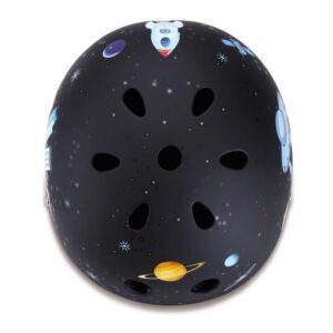 Детски каски за колело и тротинетка, 48-51 см - Черна - Играчки за навън - Протектори - каски, налакътници, наколенки