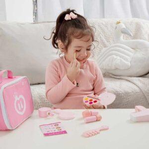 Детски комплект-играчка за гримиране - Детски играчки - Дървени играчки