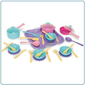 Детски комплект за хранене - Детски играчки - Кухни за игра - комплекти и консумативи