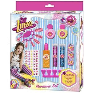 Детски комплект за маникюр - Сой Луна - Детски играчки - Детски гримове, комплекти и аксесоари - Soy Luna