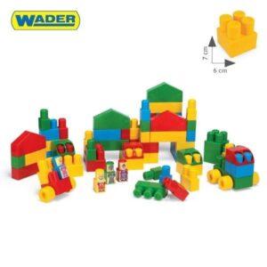 Детски конструктор - 70 части - Детски играчки - Конструктори