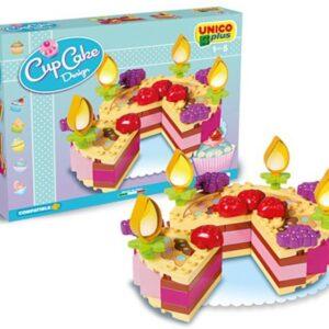 Детски конструктор - десерти, Unico - Детски играчки - Конструктори