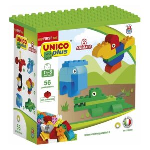 Детски конструктор - животни, Unico - Детски играчки - Конструктори