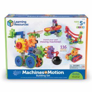 Детски конструктор - Машини в действие - 116 части - Детски играчки