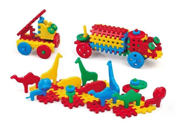 Детски конструктор - микс 150 части - Детски играчки - Конструктори