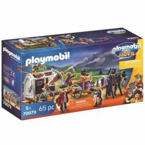 Детски конструктор Playmobil, Чарли със затворническия вагон - Детски играчки - Конструктори