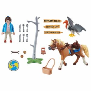 Детски конструктор Playmobil, Марла с кон - Детски играчки - Конструктори