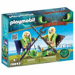 Детски конструктор Playmobil, Raffnut and Taffnut - Детски играчки - Конструктори