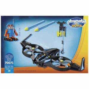 Детски конструктор Playmobil, Роботитрон с дрон - Детски играчки - Конструктори
