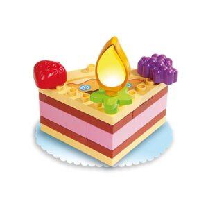 Детски конструктор - торта, Unico - Детски играчки - Конструктори
