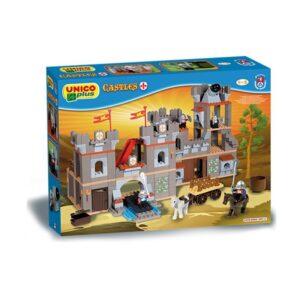 Детски конструктор - замък, Unico - Детски играчки - Конструктори