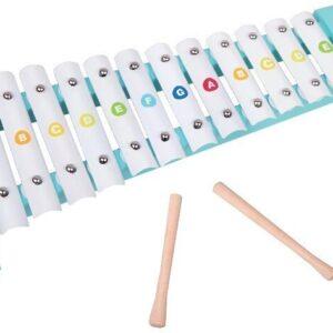 Детски ксилофон с буквички - Детски играчки - Музикални инструменти - Дървени играчки