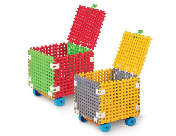 Детски куб за игра и съхранение на играчки - QB - Детски играчки - Образователни играчки