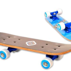 Детски мини скейтборд, FUNBEE - син - Играчки за навън - Скейтборд за деца