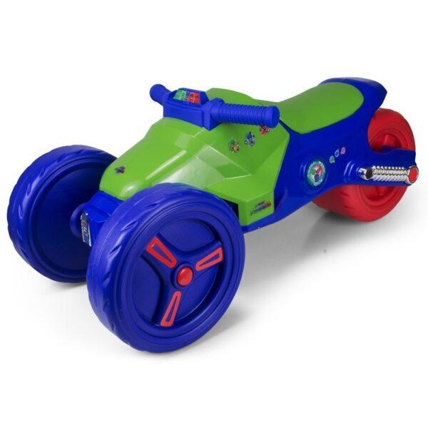 Детски мотор PJ Masks, синьо зелен - Детски играчки - Детски камиончета и коли