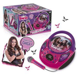 Детски музикален плеър с микрофон Chica Vampiro - Детски играчки - Музикални инструменти - Chica vampiro