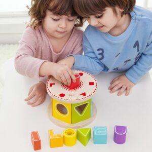 Детски образователен сортер с буквички LOVE - Детски играчки - Образователни играчки - Дървени играчки