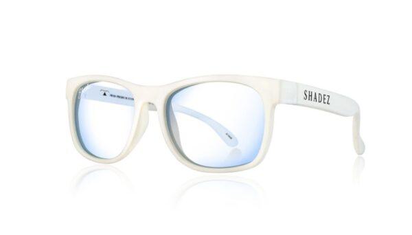 Детски очила за работа с компютър Shadez Blue Light 7+ години бели - Слънчеви очила