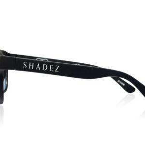 Детски очила за работа с компютър Shadez Blue Light 7+ години черни - Слънчеви очила