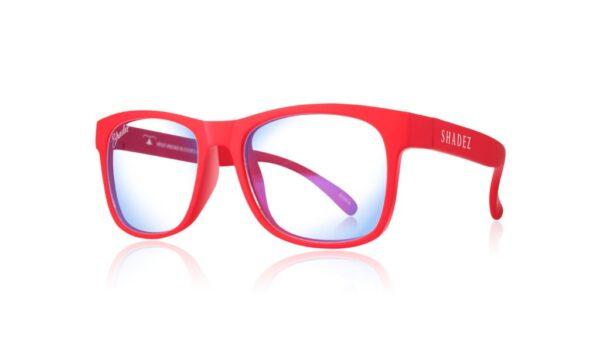 Детски очила за работа с компютър Shadez Blue Light 7+ години червени - Слънчеви очила