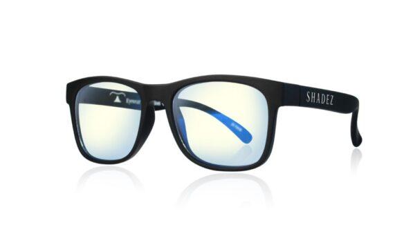 Детски очила за работа с компютър Shadez Blue Light от 3-7 години черни - Слънчеви очила