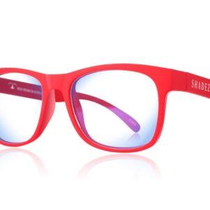 Детски очила за работа с компютър Shadez Blue Light от 3-7 години червени - Слънчеви очила
