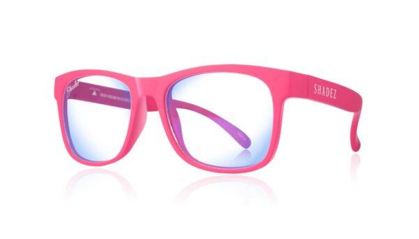 Детски очила за работа с компютър Shadez Blue Light от 3-7 години розови - Слънчеви очила