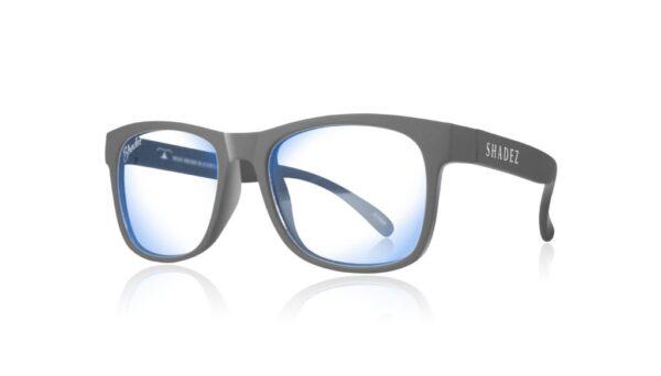 Детски очила за работа с компютър Shadez Blue Light от 3-7 години сиви - Слънчеви очила