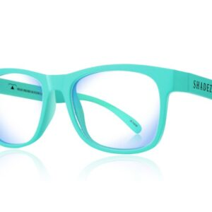 Детски очила за работа с компютър Shadez Blue Light от 3-7 години тюркоазени - Слънчеви очила