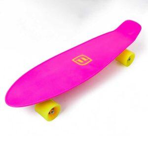 Детски пениборд 22'' FUNBEE, розов - Играчки за навън