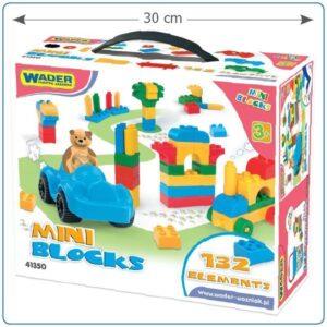 Детски пластмасов конструктор със 130 части - Детски играчки - Конструктори