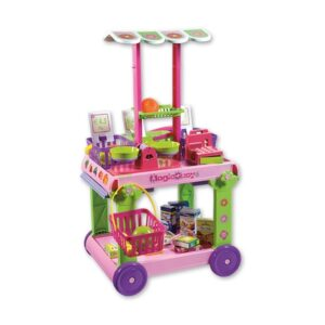 Детски подвижен мини маркет, Unico - Детски играчки - Кухни за игра - комплекти и консумативи