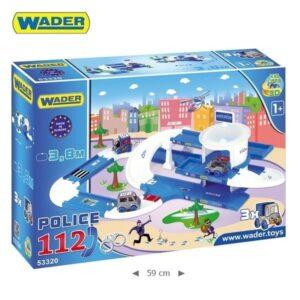 Детски полицейски участък - Детски играчки - Детски гаражи и писти