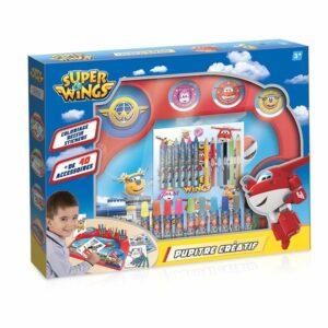 Детски принадлежности за риуване с дъска - Ученически пособия - Комплекти за рисуване - За детето - Super Wings