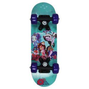 Детски скейтборд, ENCHANTIMALS - 43 см - Играчки за навън - Скейтборд за деца - Enchantimals