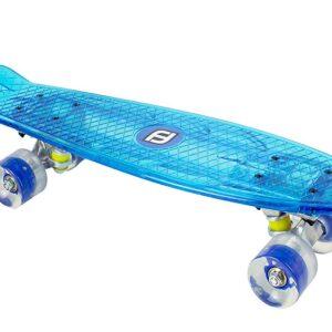 Детски скейтборд с LED светлини, FUNBEE за момче - Играчки за навън - Скейтборд за деца
