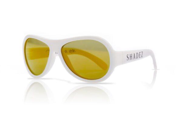 Детски слънчеви очила Shadez Classics от 3 - 7 години бели - Слънчеви очила