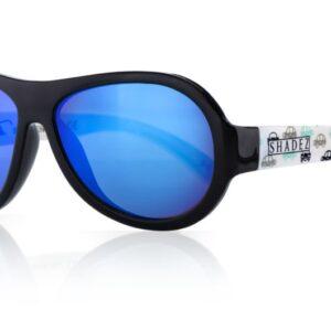 Детски слънчеви очила Shadez Designers Car Print 7+ години - Слънчеви очила