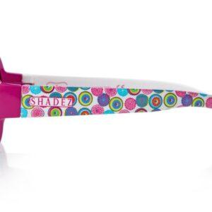 Детски слънчеви очила Shadez Designers Psychedelic Fuchsia от 3-7 години - Слънчеви очила