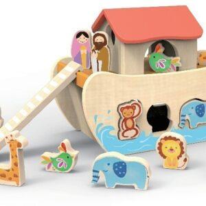 Детски сортер - Ноевия ковчег - Детски играчки - Пъзели - Дървени играчки