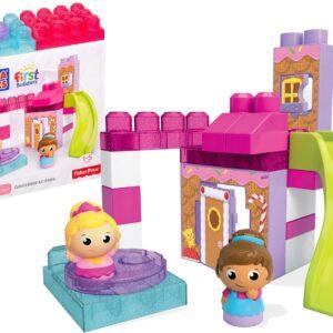 Детски строител - Джинджифиловият парк, Mega Bloks - Детски играчки - Конструктори