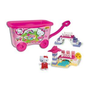 Детски строител - Hello Kitty, Unico - Детски играчки - Конструктори - Hello Kitty