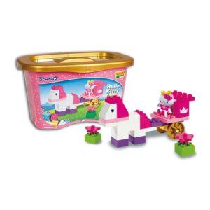 Детски строител - каляска, Hello Kitty, Unico - Детски играчки - Конструктори - Hello Kitty