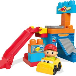 Детски строител - Въртящият се гараж, Mega Bloks - Детски играчки - Конструктори