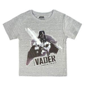 Детски тениски сива и черна - Star Wars - Детски дрехи и обувки - Тениски за момчета - Star Wars