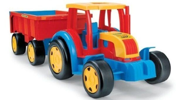 Детски Трактор с ремарке - Детски играчки - Детски камиончета и коли