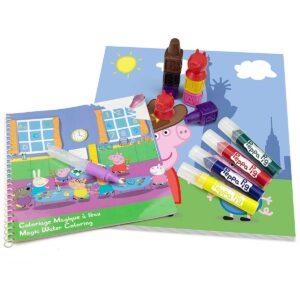 Детски творчески комплект за рисуване Peppa Pig - Ученически пособия - Комплекти за рисуване - За детето