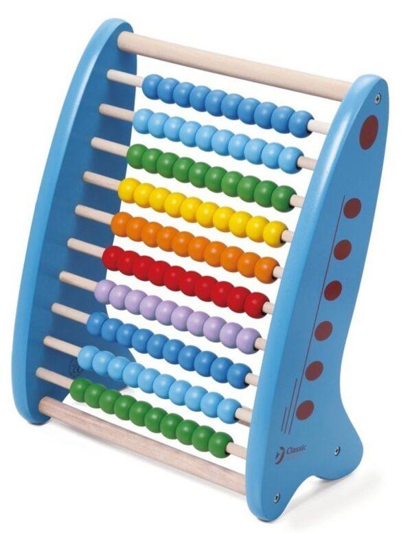 Детско дървено сметало - Детски играчки - Образователни играчки - Дървени играчки