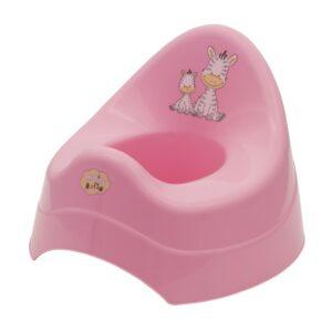 Детско гърне - Зебра розово - За бебето - Детска и бебешка тоалетна - Гърнета