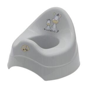 Детско гърне - Зебра сиво - За бебето - Детска и бебешка тоалетна - Гърнета